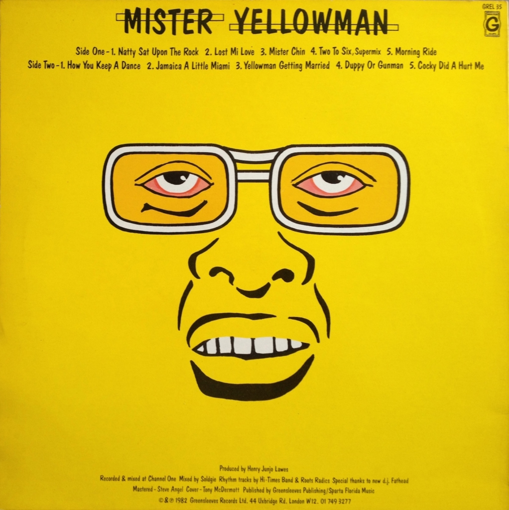 canciones yellowman